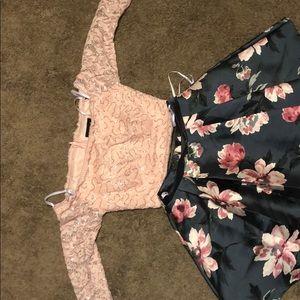2 pc B.DARLIN dress